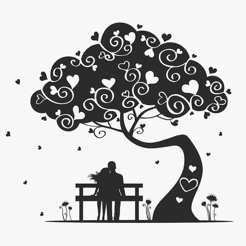 Love under a tree