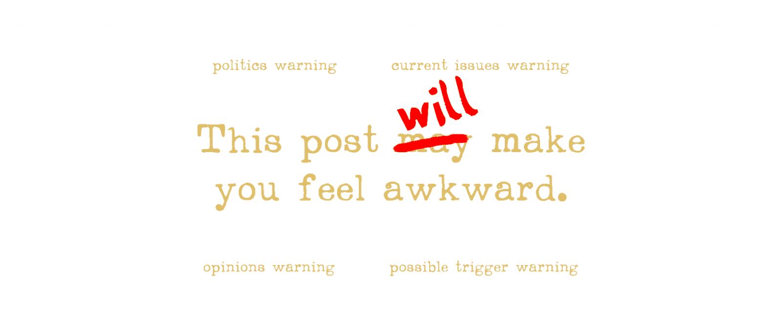 This post will make you feel awkward