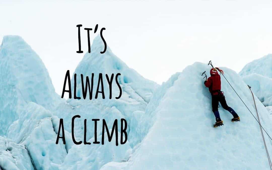 Marketing is always a climb