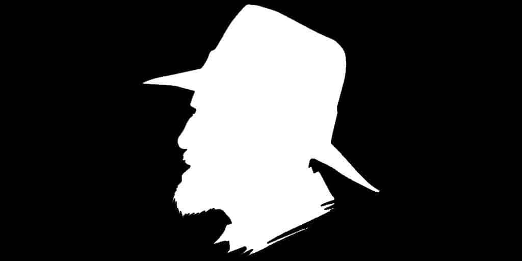 Terry Pratchett's Silhouette
